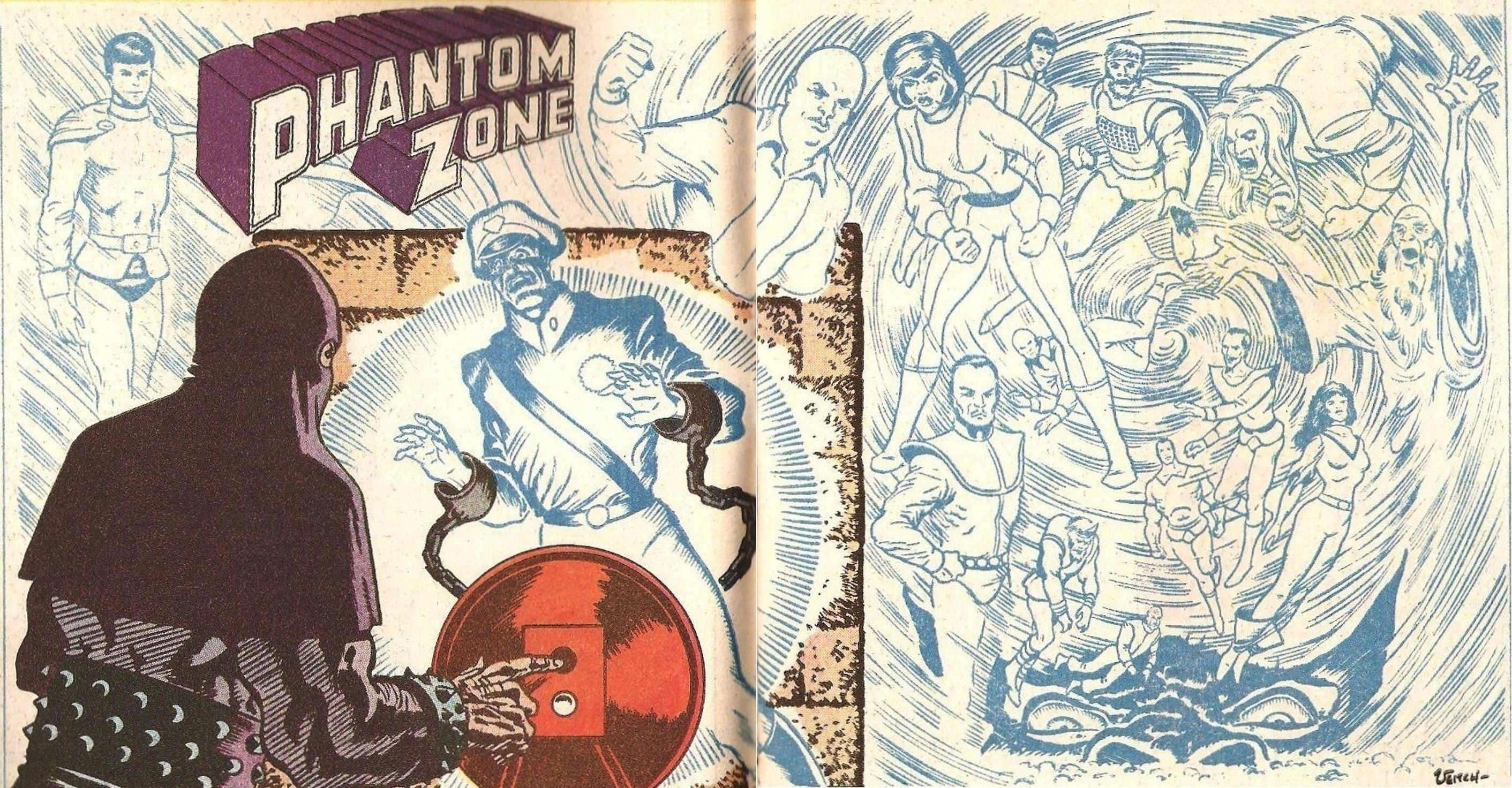 The Phantom Zone as it appeared in 'The Definitive Directory of the DC Universe'