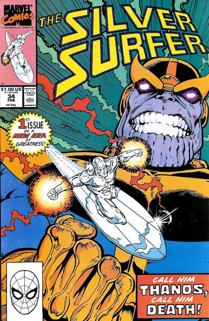 Marvel Infinity War Silver Surfer