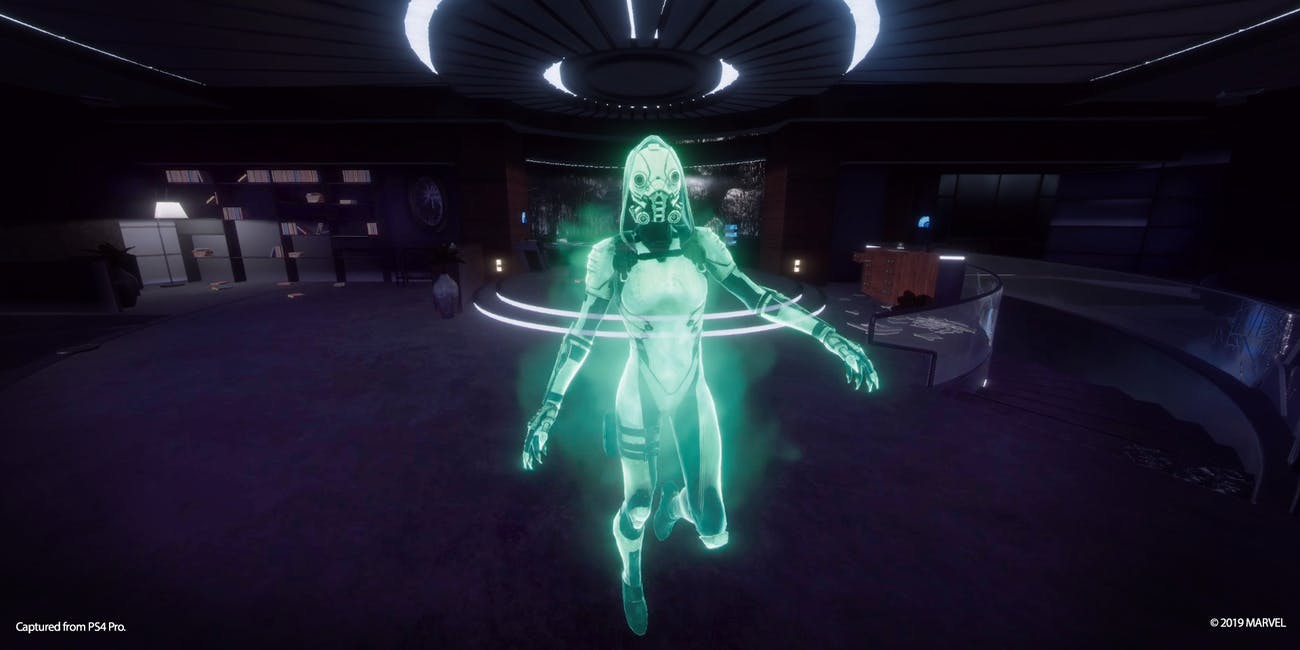 Ghost in Iron Man VR