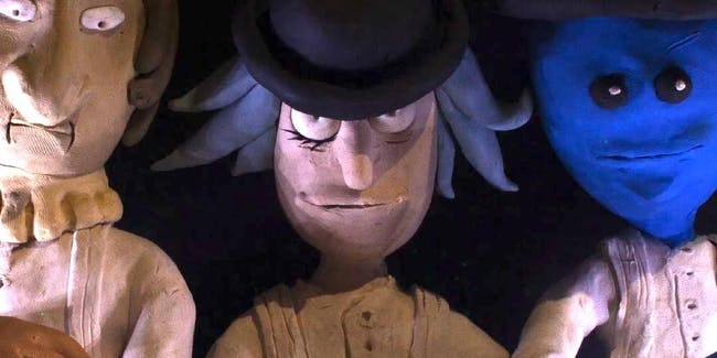 'Rick and Morty: The Non-Canonical Adventures' does 'Clockwork Orange'.