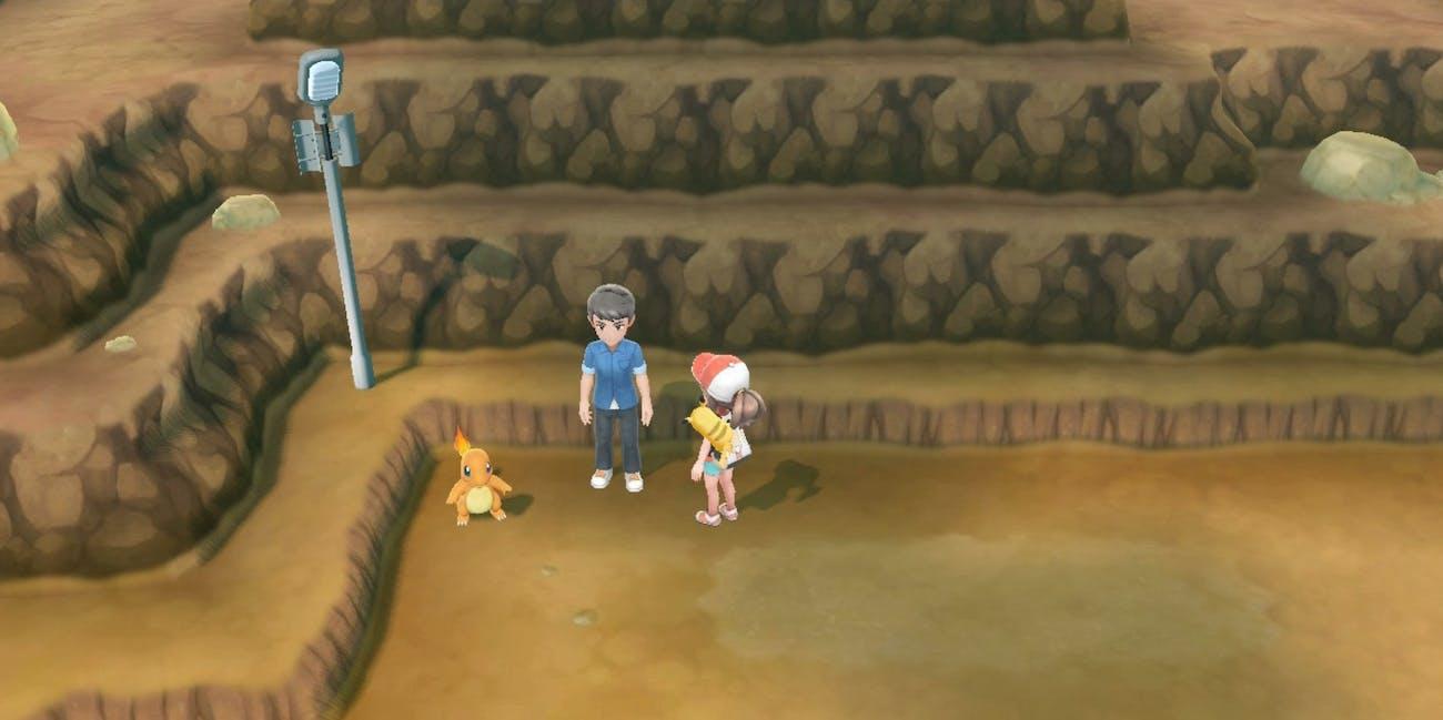 'Pokémon: Let's Go' Charmander