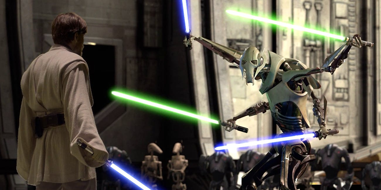 Obi-Wan Kenobi vs. General Grievous