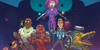 The all-new, all-different Vindicators have their own Infinity War.