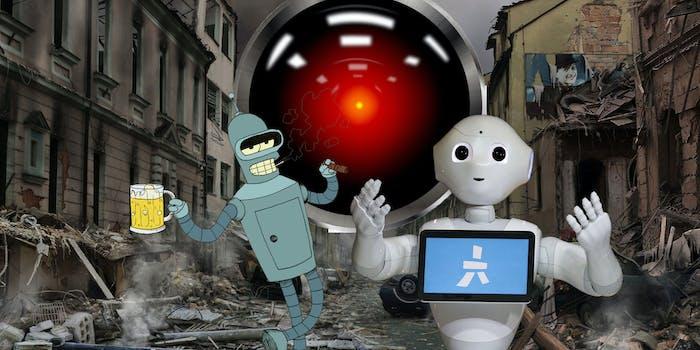 robots bender pepper HAL