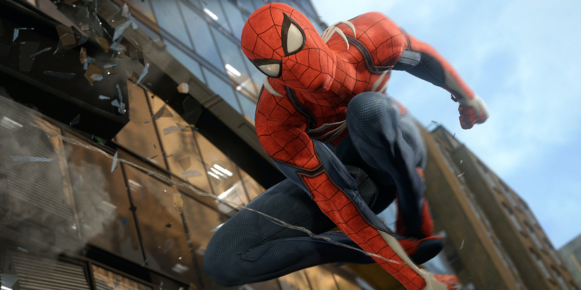 The Spider-Man game for the PS4 from Marvel and Insomniac Games