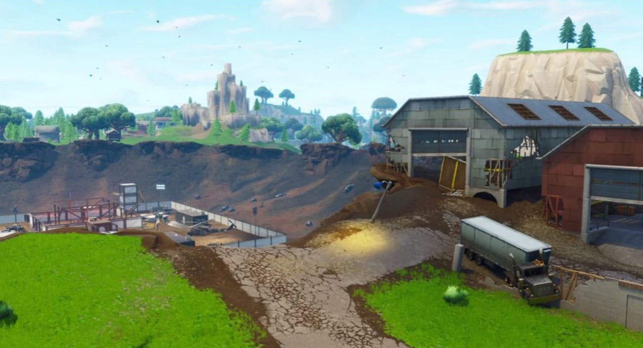 Welcome to Dusty Divot in 'Fortnite: Battle Royale' Season 4.