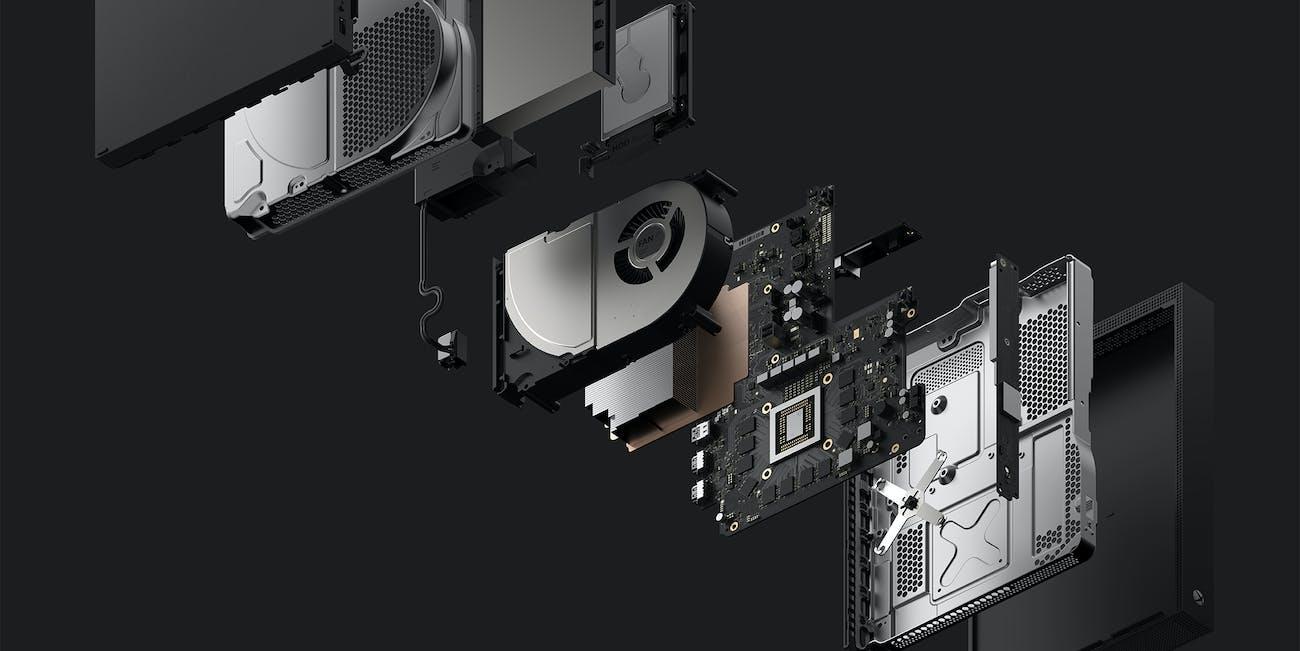 Xbox One X internals.