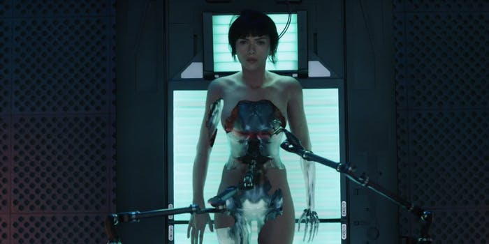 major ghost in the shell