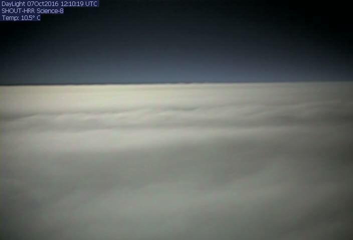 A drone's eye view of Hurricane Matthew