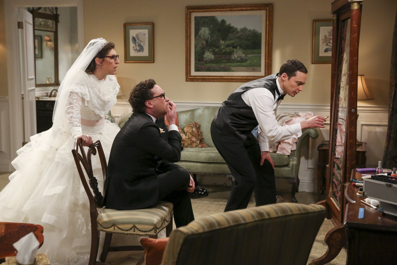 Sheldon Amy wedding Big Bang Theory