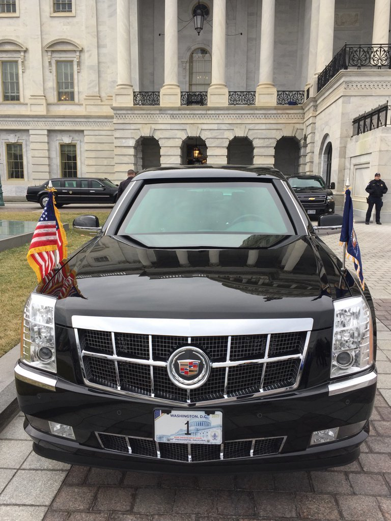 Inside Donald Trump S New Presidential Car The Beast Inverse