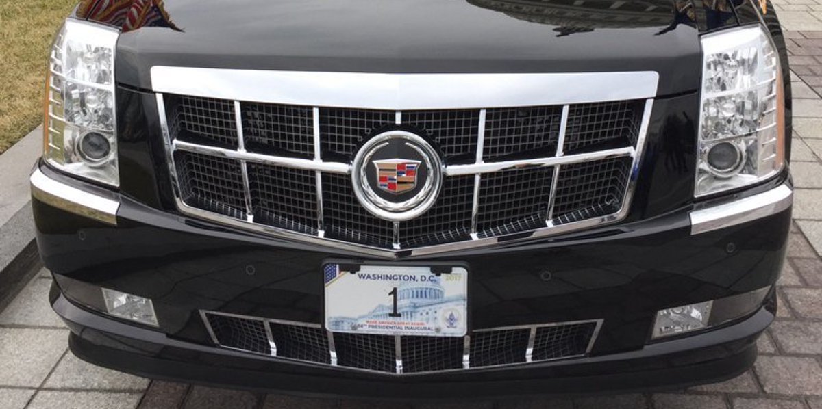 Inside Donald Trump\'s New Presidential Car, \'The Beast\' | Inverse