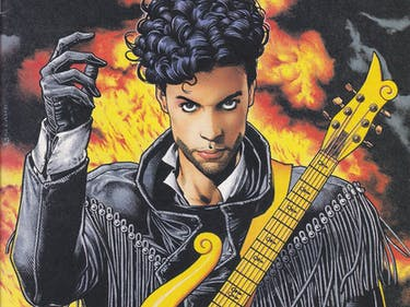 Prince Was a Comic Book Mainstay