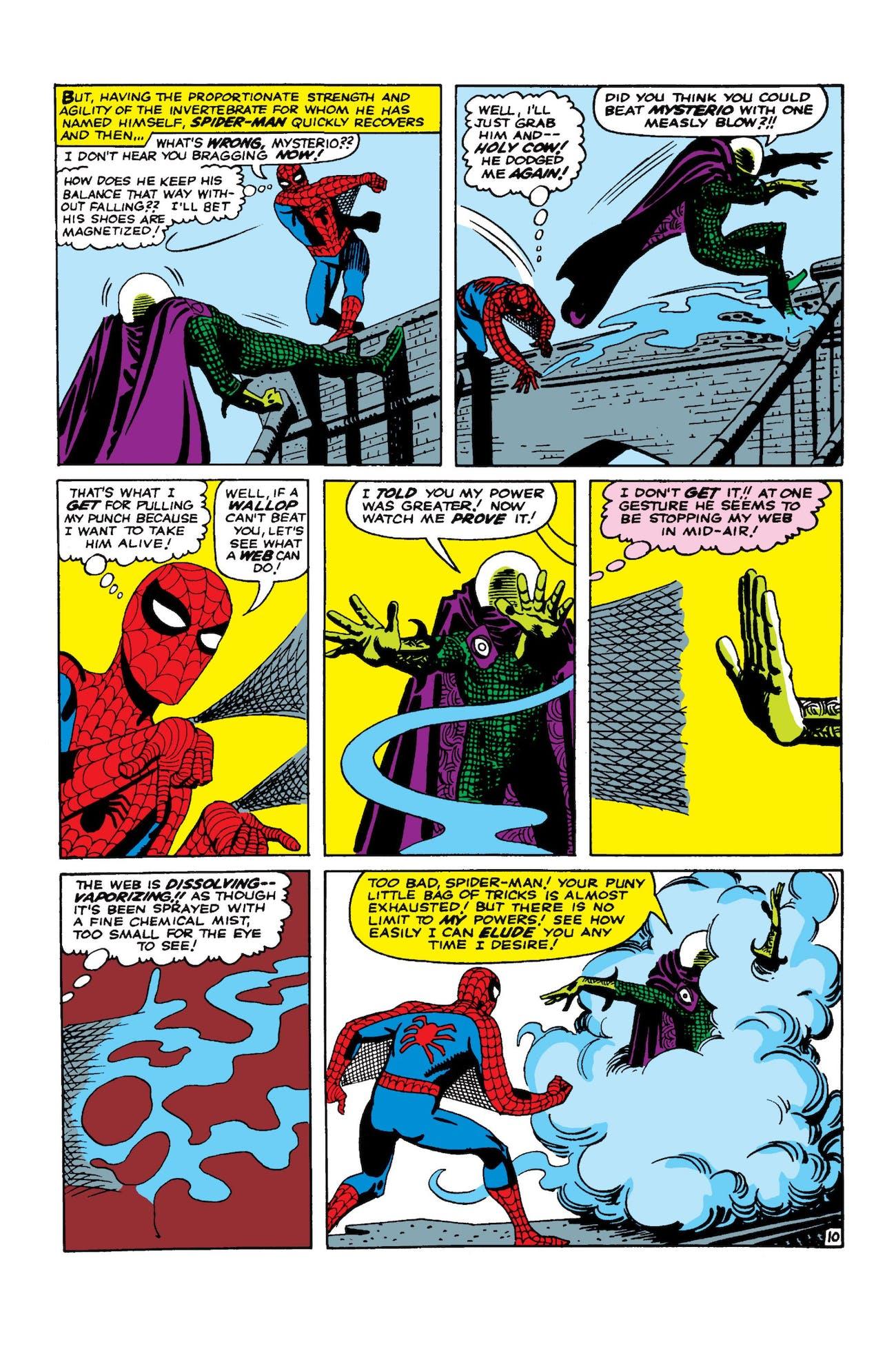 Steve Ditko Spider-Man Mysterio