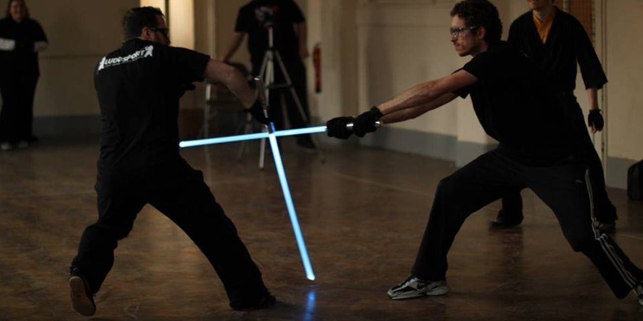 What IRL Lightsaber Training Looks Like at the LudoSport