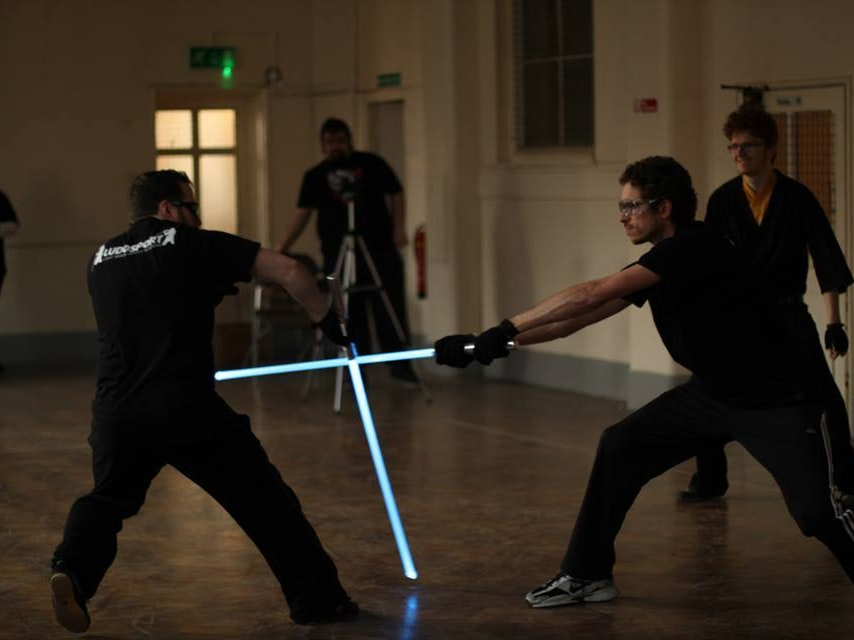 This IRL Lightsaber Academy Will Train You to Be a Jedi