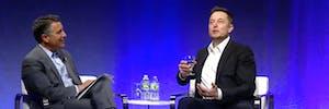 Nevada Governor Brian Sandoval and Elon Musk