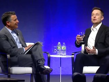 Nevada Governor Brian Sandoval and Elon Musk