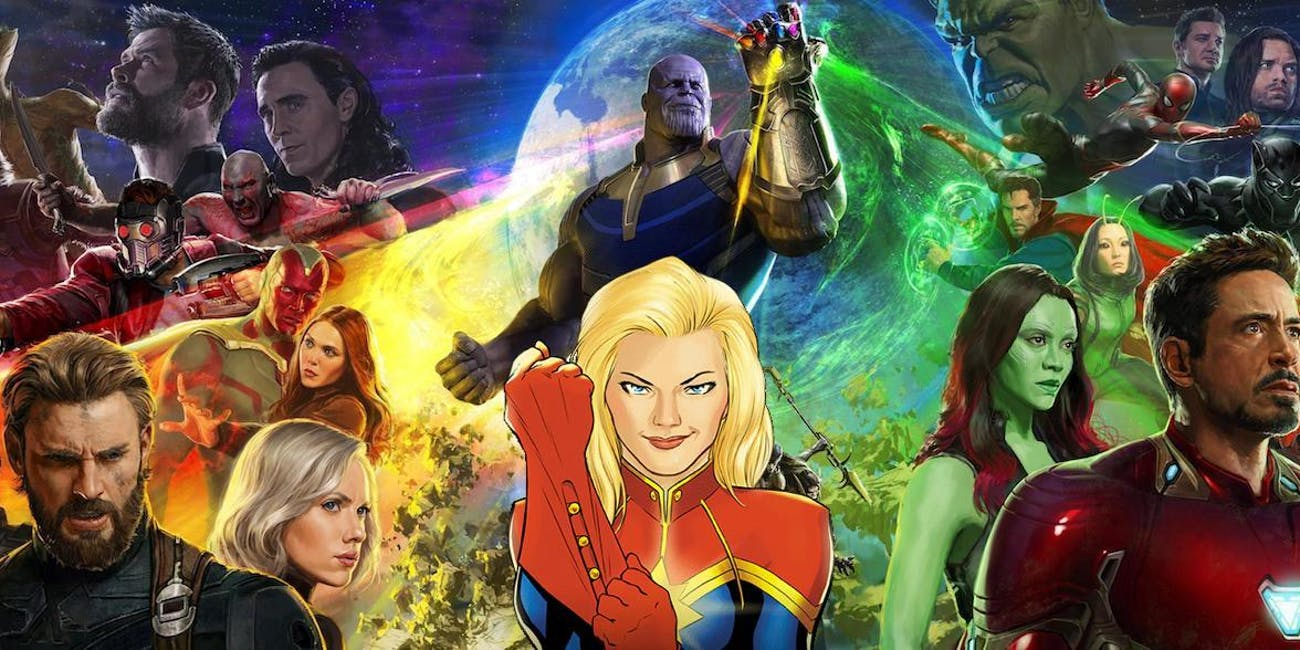 How will Captain Marvel fit into the MCU post-'Infinity War'?
