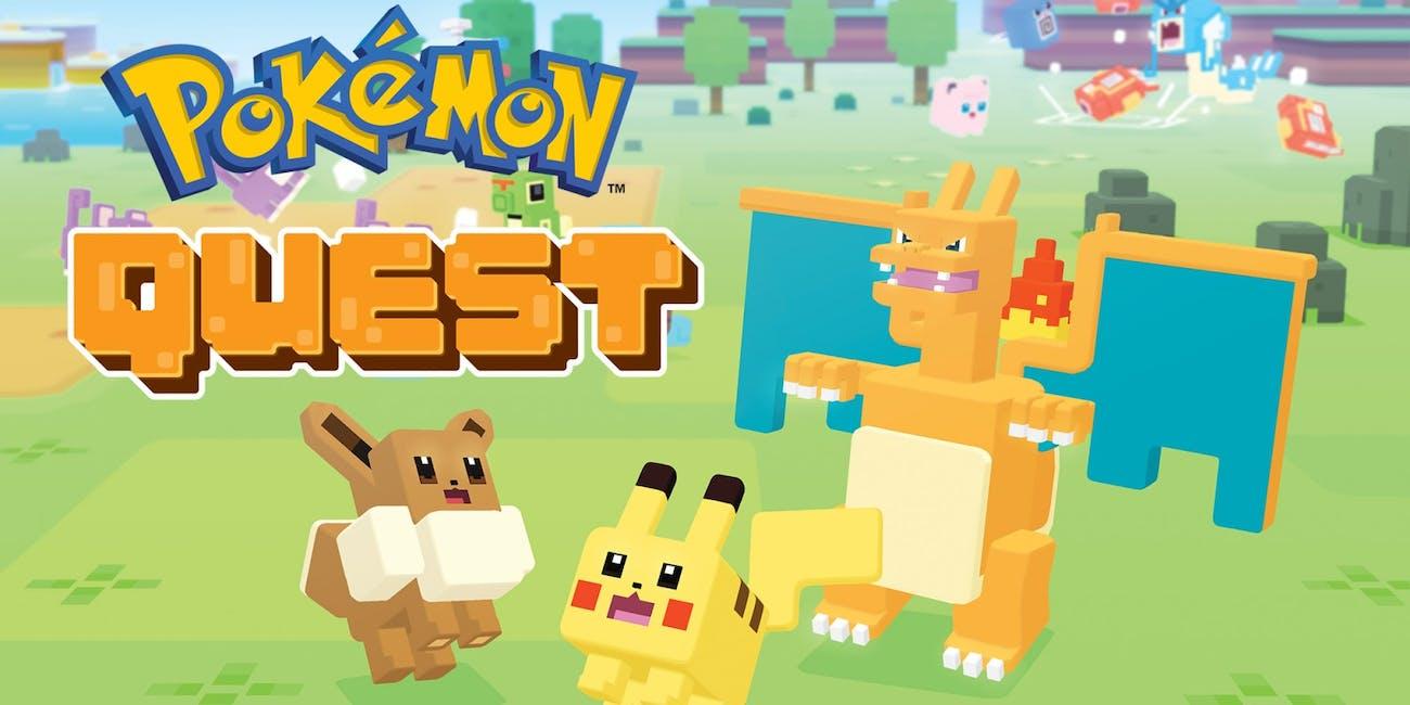 Pokemon Quest trailer