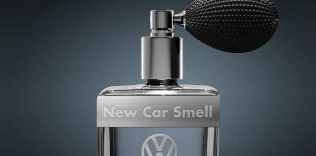New car smell Chinese buyers odorless cologne Volkswagen changing market vehicle sales