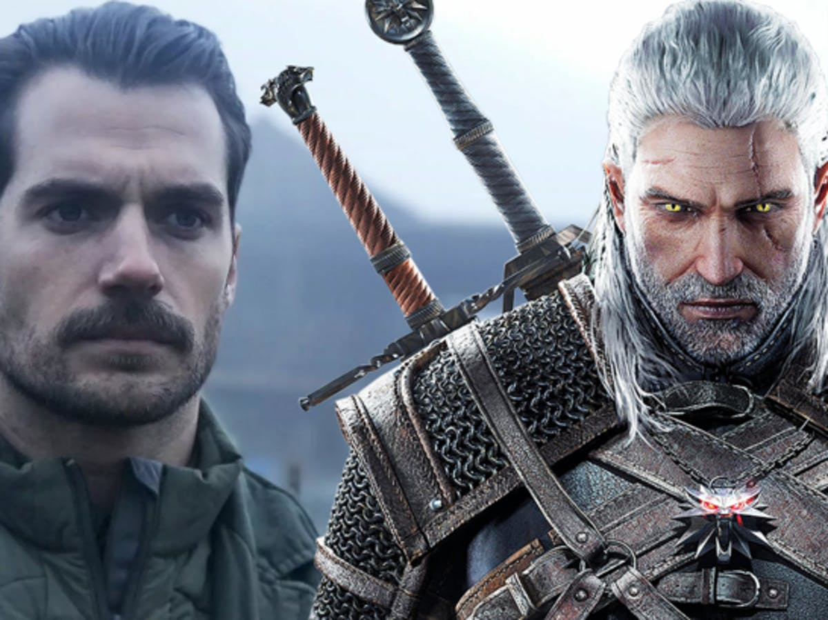 The Witcher Netfilx Henry Cavill Screen Test Reveals A