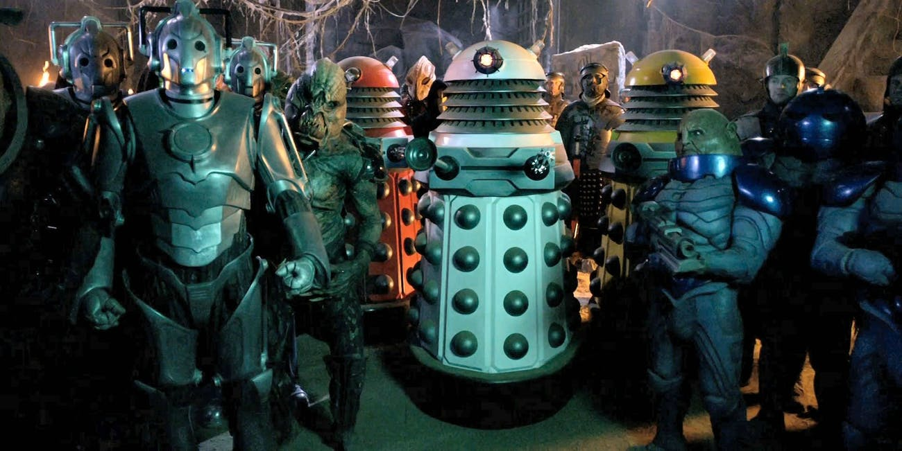 Ranking the 10 Greatest 'Doctor Who' Villains   Inverse