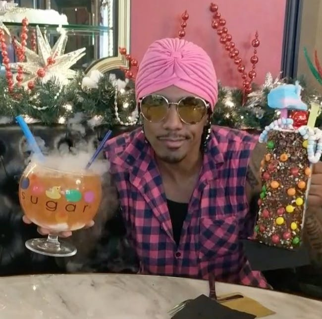 Sugar Factory, nick cannon