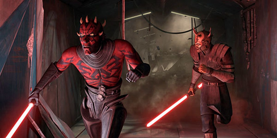 "Maul with more ""regular"" robot legs"