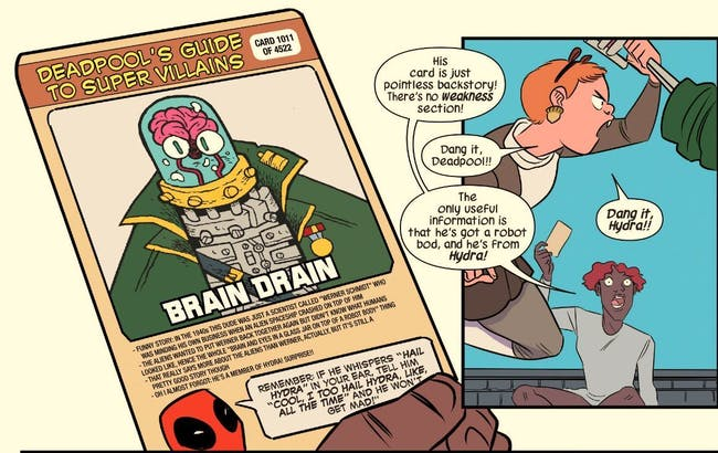how deadpool helps squirrel girl beat up marvel villains inverse