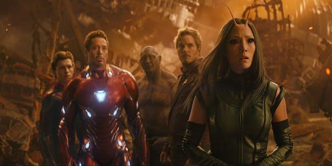 Drax Guardians of the Galaxy Infinity War