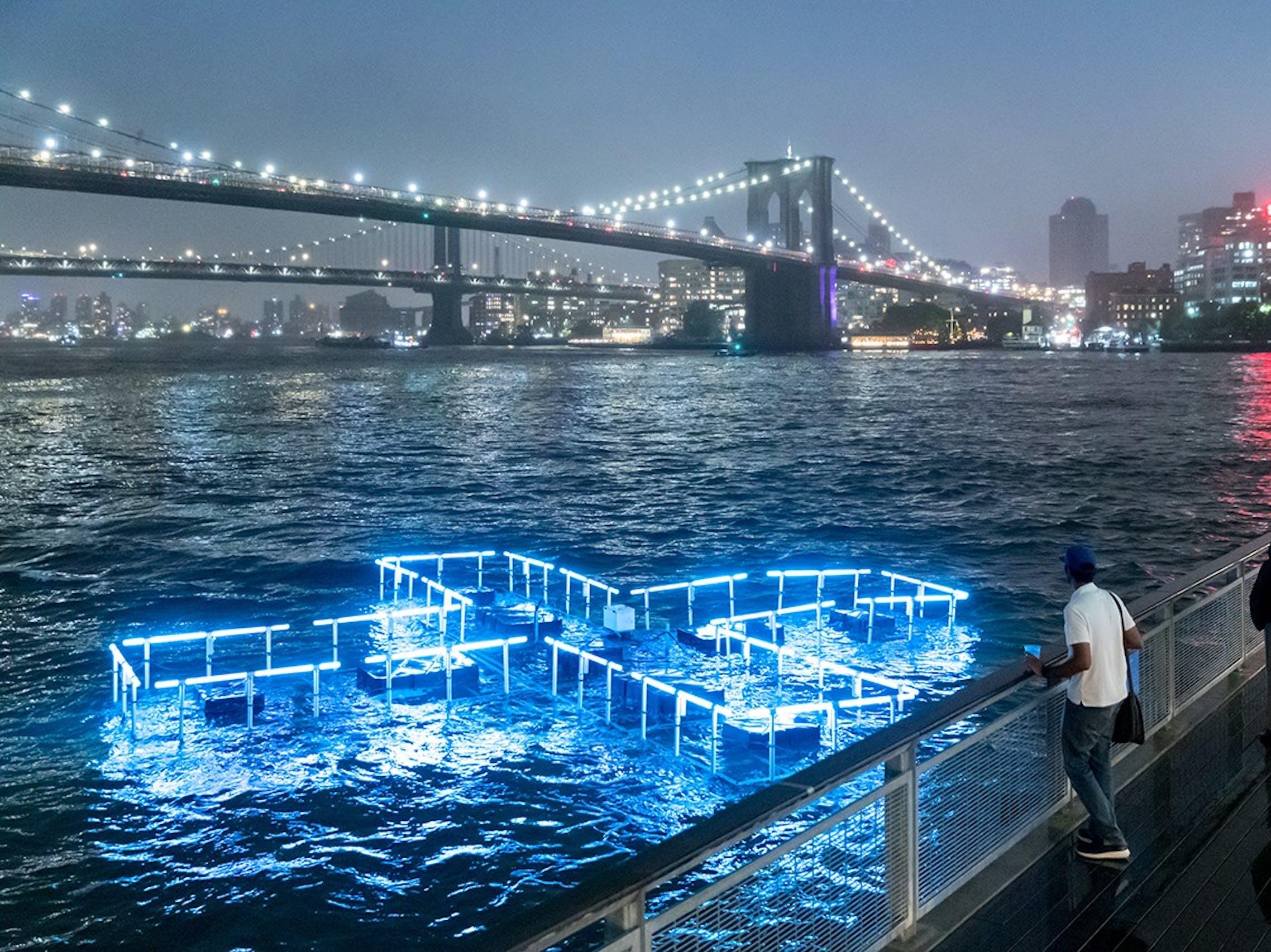 Plus Pool, East River