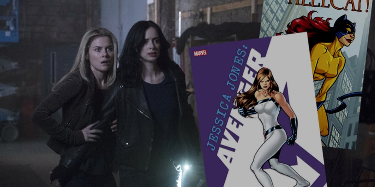 Jessica Jones Jewel Hellcat