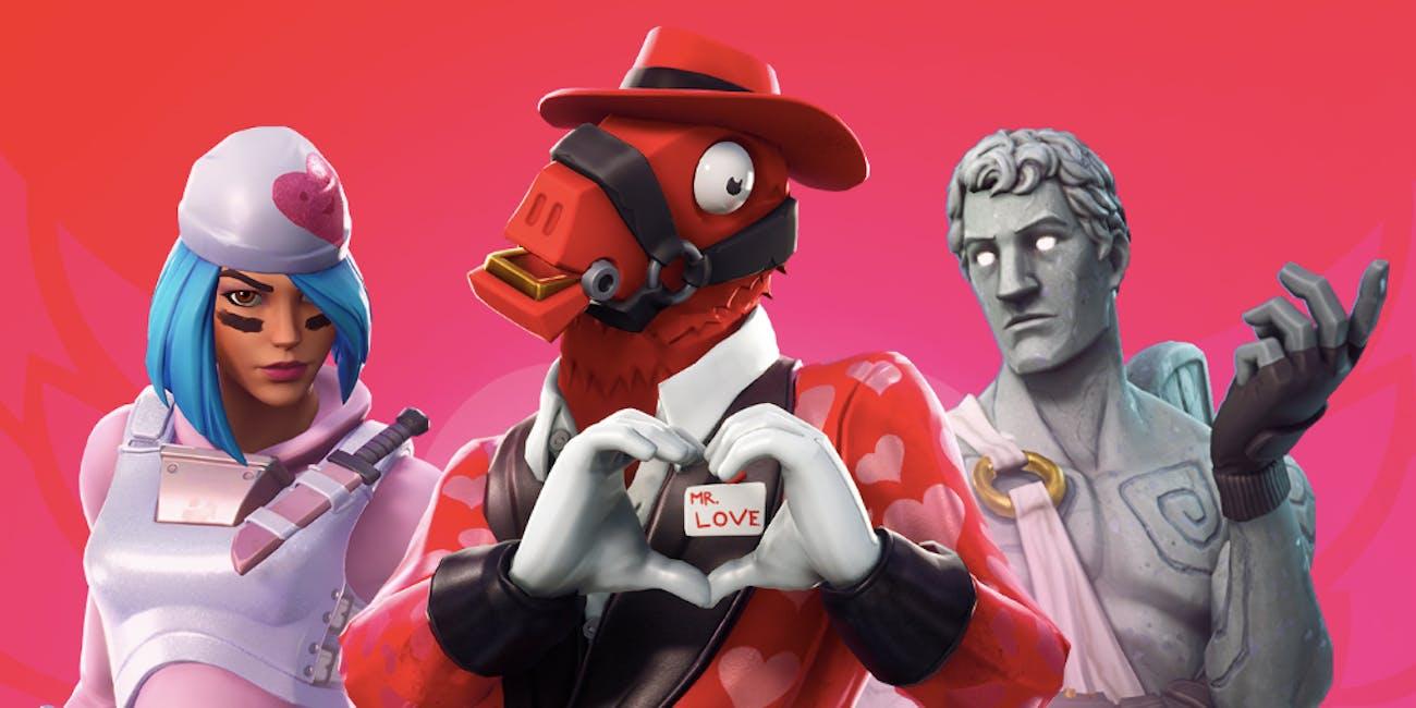 Fortnite valentine's day