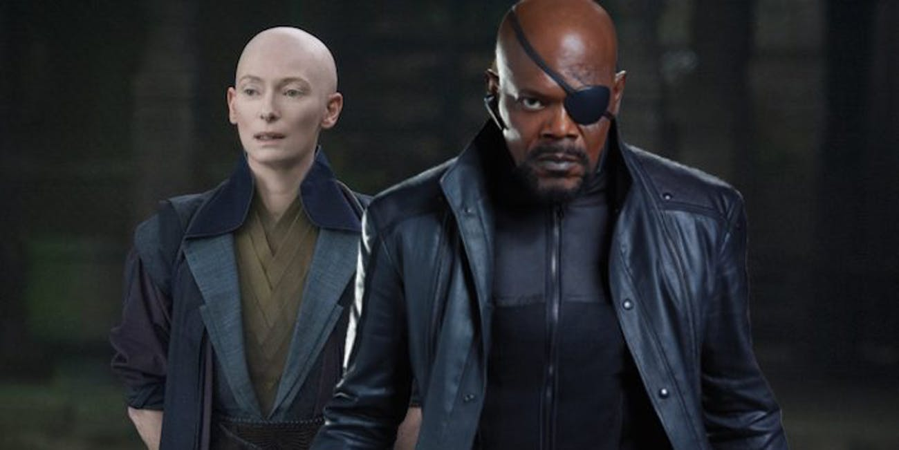 Latest 'Avengers 4' theory assumes that Nick Fury and the Ancient One have met before.
