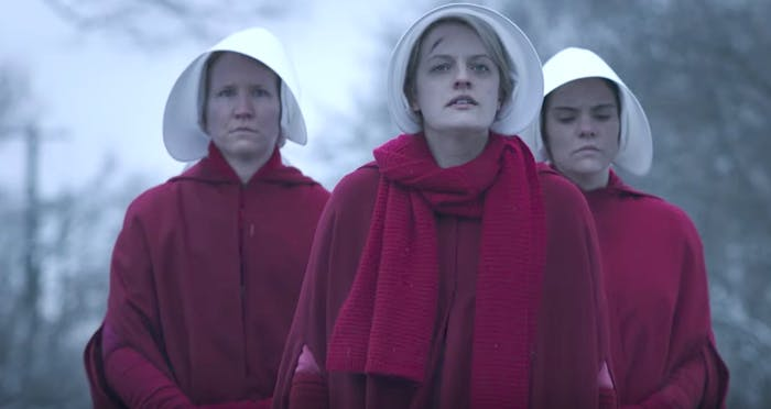 Elizabeth Moss in 'The Handmaid's Tale'