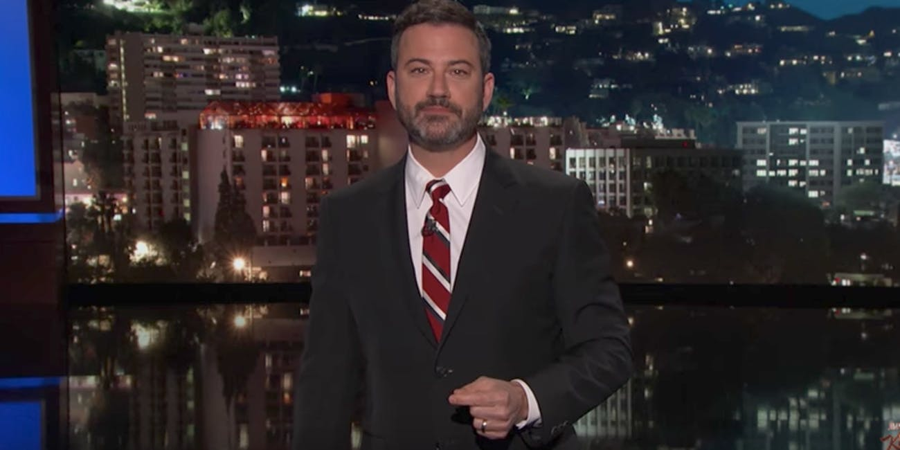 Jimmy Kimmel responds to Bill Cassidy and Chris Christie.