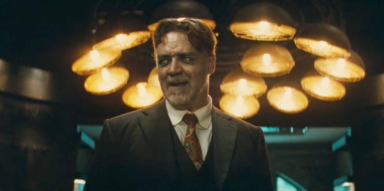 Russell Crowe as Mr. Hyde.