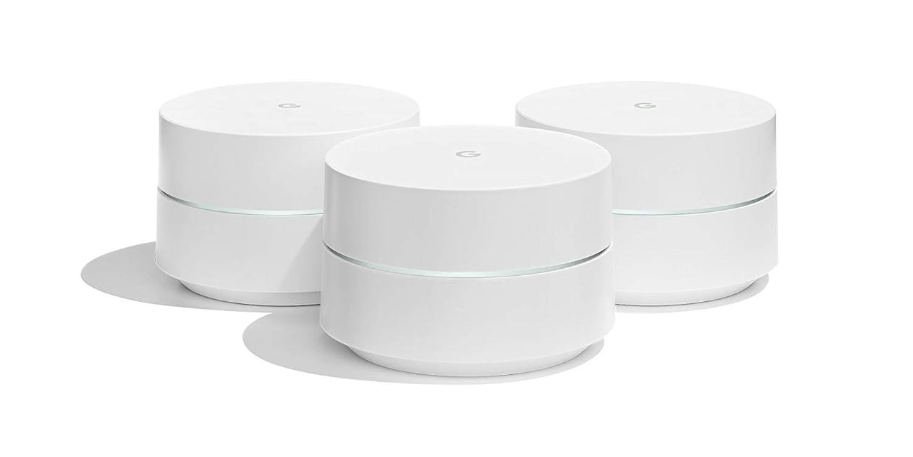 A Google Wifi Mesh Network Covers Your Whole Home With High