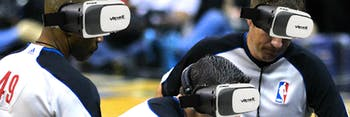 VR will be used by NBA referees as a training tool.