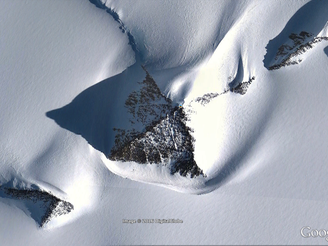 Antarctic Pyramid Mountain Isn't an Alien UFO Base