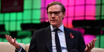 Alexander Nix of Cambridge Analytica