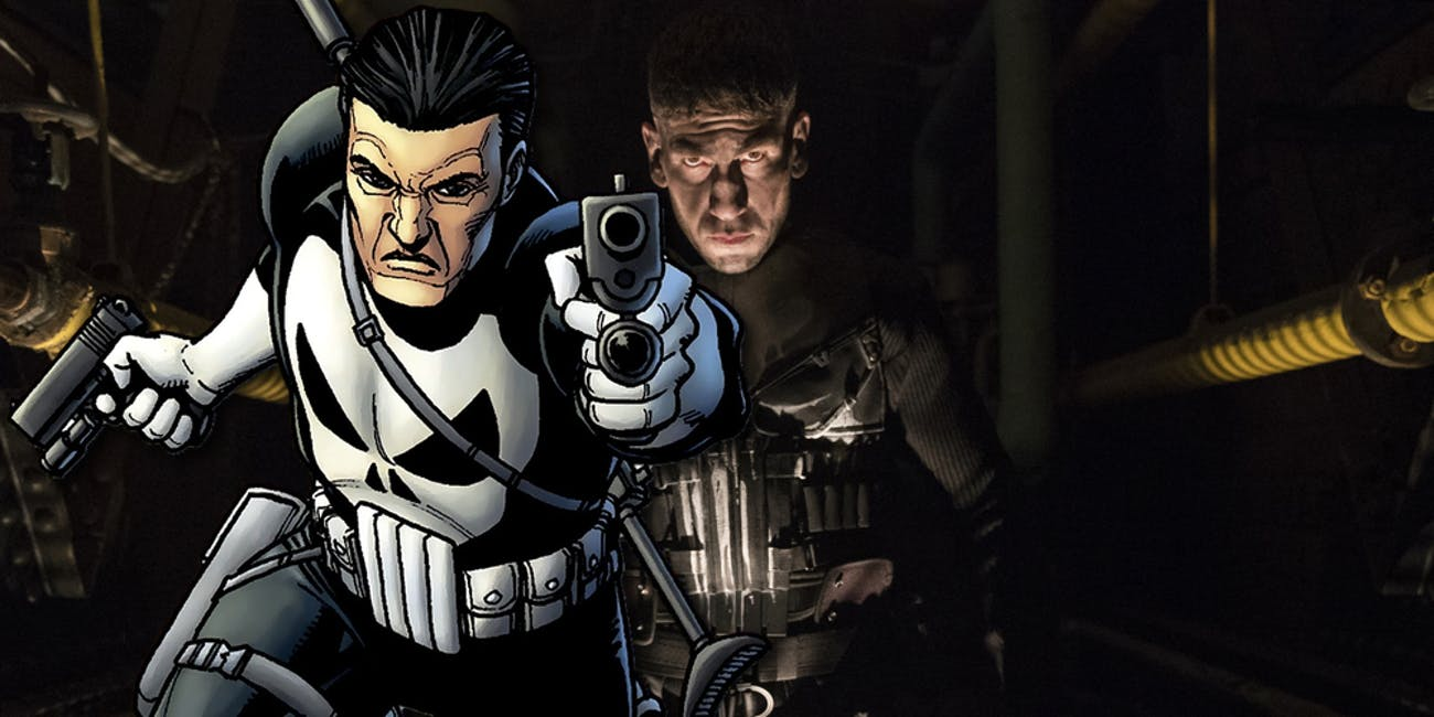 new netflix photo shows frank castle before he became the punisher