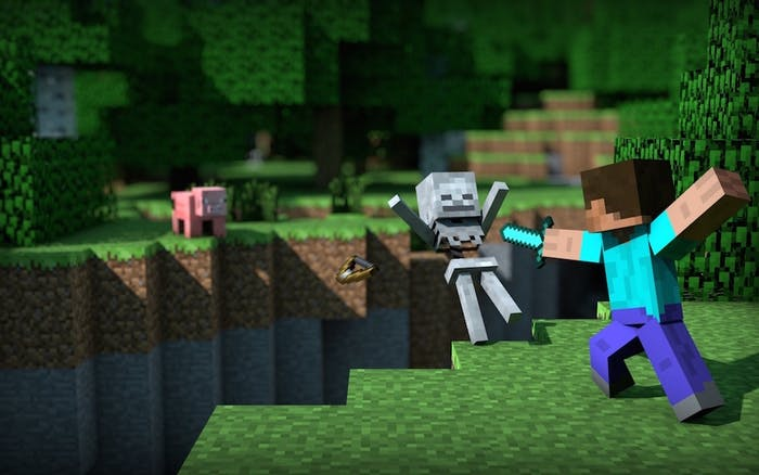 'Minecraft' was destined for VR.