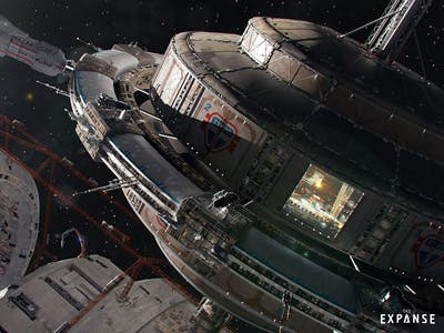 Designing the Ships of 'The Expanse' Season 2
