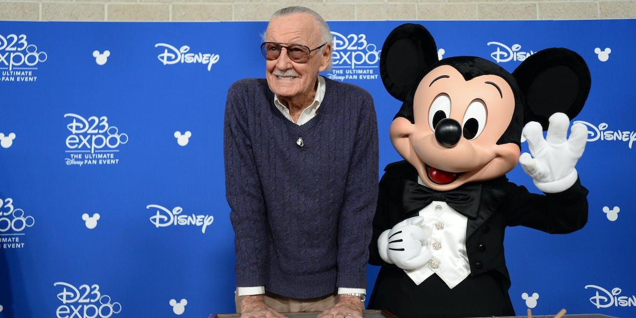 147118AP25133 Stan Lee Disney Marvel