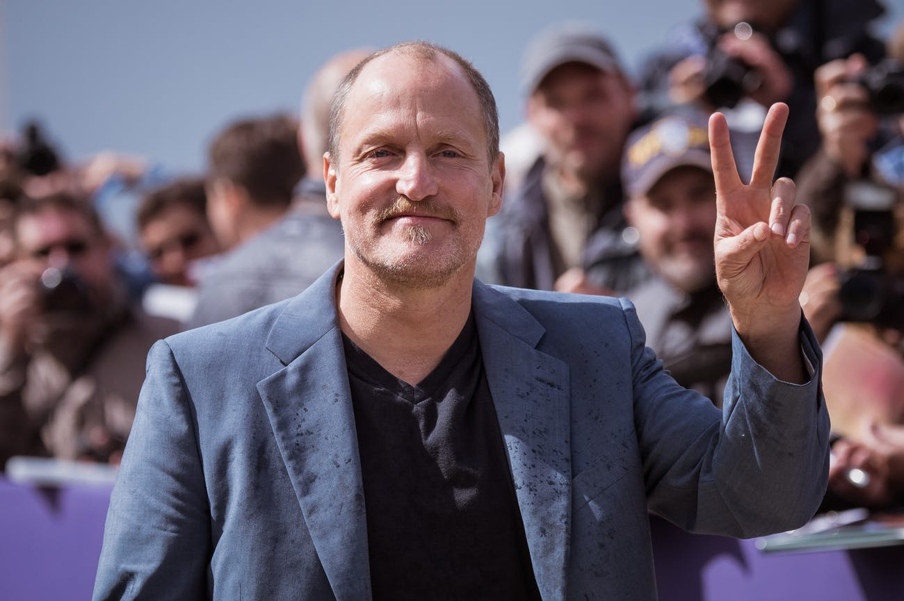 DEAUVILLE, FRANCE - SEPTEMBER 09: Woody Harrelson attends the naming ceremony of his dedicated beach cabana during the 43rd Deauville American Film Festival on September 9, 2017 in Deauville, France. (Photo by Francois Durand/Getty Images)
