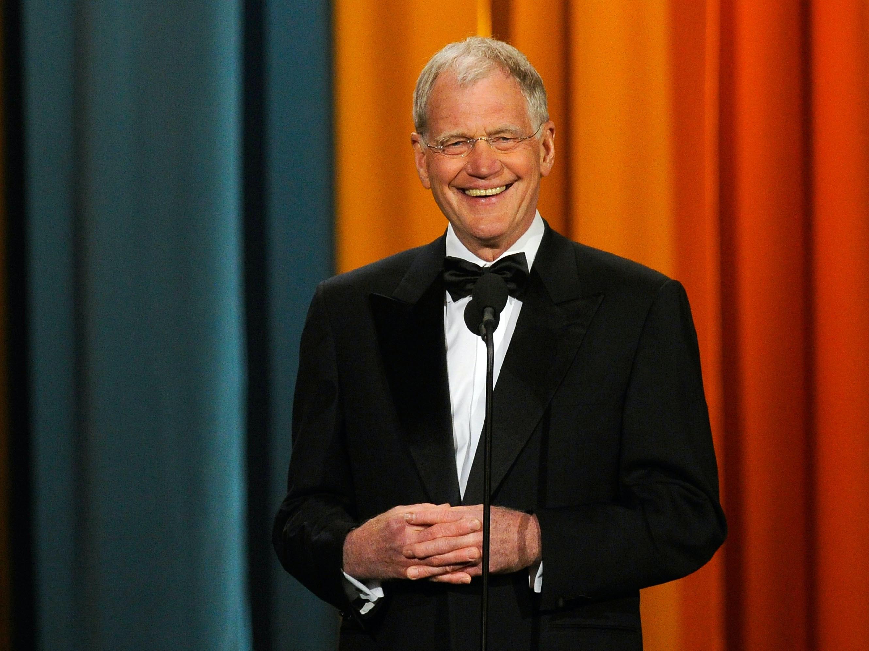 Les Moonves Thinks It's Surprising That David Letterman Is Sensitive, But It Isn't.