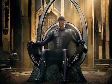 Black Panther Marvel Poster MCU