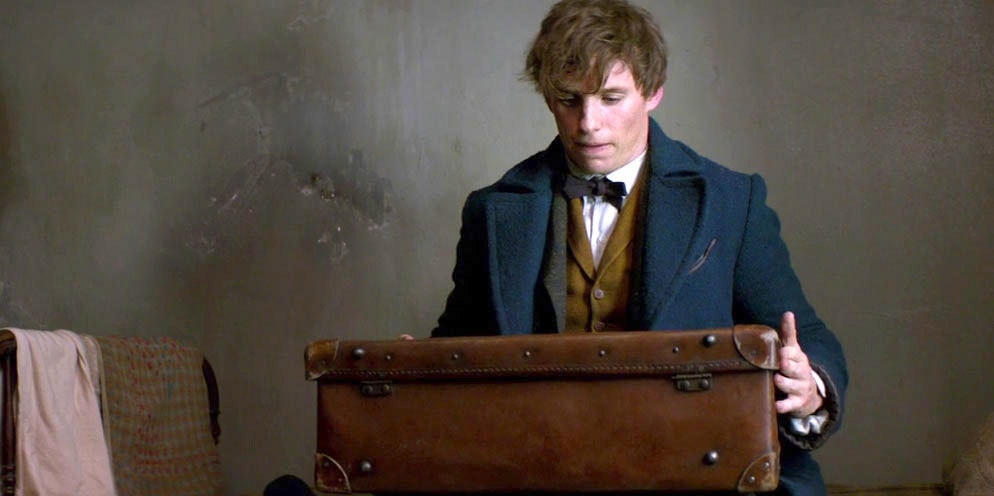 Here's How All Those 'Fantastic Beasts' Live In Newt's Suitcase